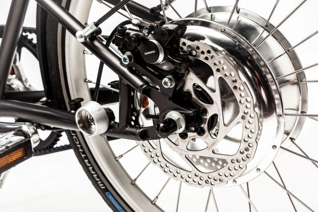 Detail des E-Faltrad Vello Bike+